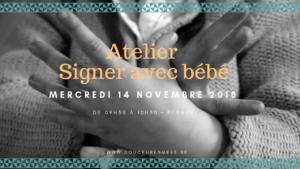 Atelier: signer avec bébé @ Douceur en Mère