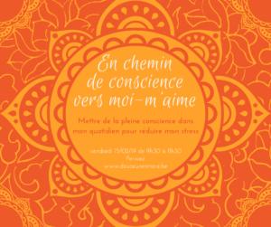 Atelier de présence à soi au quotidien @ Douceur en Mère